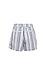 Michael Stars High Waisted Printed Shorts Thumb 2
