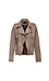 KUT from the Kloth Faux Suede Open Front Jacket Thumb 1