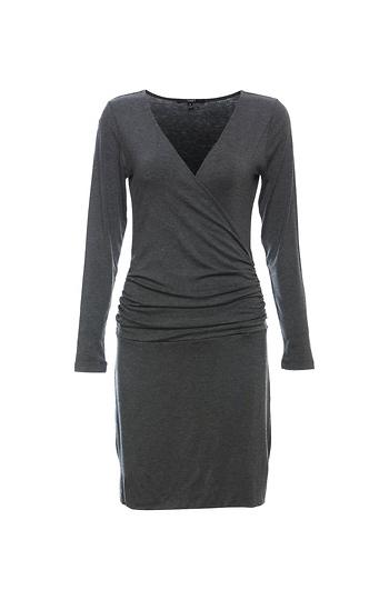 Tart Collection Surplice Shirred Sides Dress Slide 1