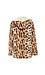 CoffeeShop Hooded Leopard Print Fleece Jacket Thumb 2