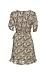 Short Sleeve Printed A-Line Dress Thumb 2