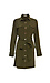 Buttoned Front Long Sleeve Cargo Dress Thumb 1