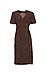 Side Tie Short Sleeve Midi Dress Thumb 1