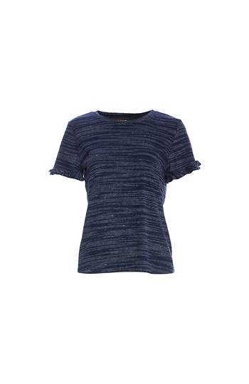 Renee C Short Sleeve Knit Top Slide 1