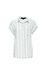 Short Dolman Sleeve Striped Shirt Thumb 1