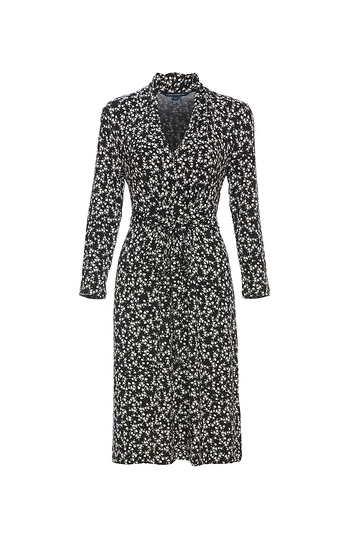 French Connection Floral Print Midi Dress Slide 1
