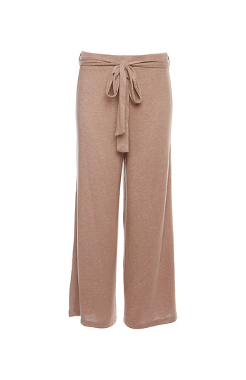 Wide Leg Cozy Knit Pants Slide 1