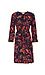 Beach Lunch Lounge Printed Neck Tie Dress Thumb 1