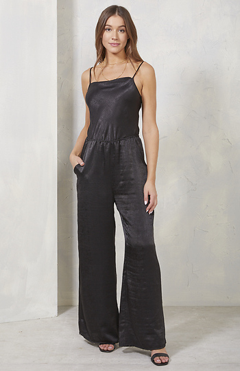 Scoop Neck Sleeveless Wide Leg Jumpsuit Slide 1