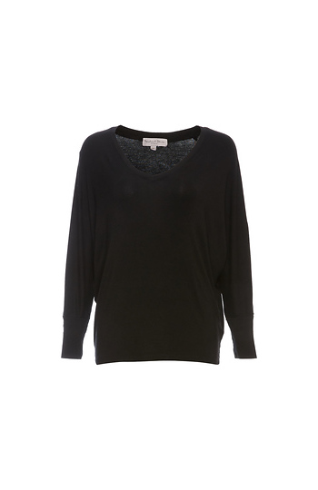 Michael Stars Long Sleeve Dolman Top Slide 1
