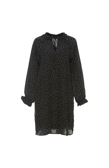 B Collection by Bobeau Yvonne V-Neck Ruffle Dress Slide 1