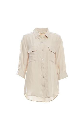 2 Pocket Cupro Shirt Slide 1