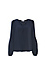 Current Air V-Neck Bubble Sleeve Blouse Thumb 1