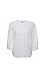 3/4 Sleeve Buttoned Front Crinkle Top Thumb 1