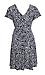 Surplice Short Sleeve Dress Thumb 2