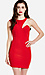 Sliced Bodice Bodycon Dress Thumb 1