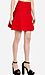 Ribbed Knit Bell Skirt Thumb 3