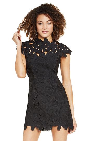 Dolce Vita Jayleen Floral Lace Dress Slide 1