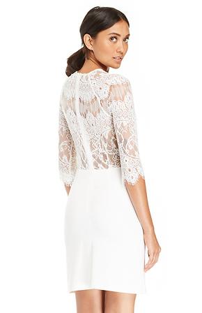 Bb Dakota Lace Princeton Dress
