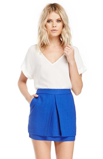 Single Pleat Skirt Slide 1