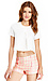 Box Pleated Crop Top Thumb 1