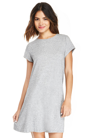 172db5db1be Glamorous T-Shirt Swing Dress in Grey
