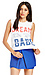 The Laundry Room American Dream Babe Thrashed Crop Muscle Tee Thumb 1