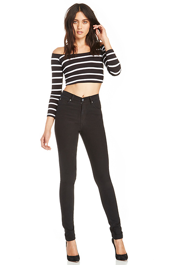 Cheap Monday Second Skin Very Stretch Jeans Slide 1