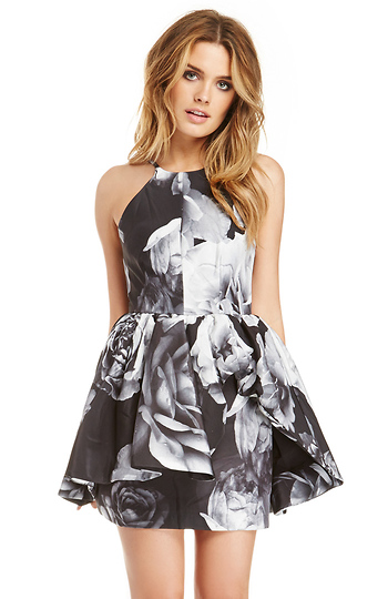Cameo Alone Tonight Peplum Dress Slide 1