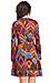 Harlyn Chevron Fit & Flare Dress Thumb 3