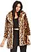 DAILYLOOK Leopard Print Coat Thumb 1