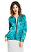 Maison Scotch Floral Quilted Bomber Jacket Thumb 4