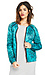 Maison Scotch Floral Quilted Bomber Jacket Thumb 3