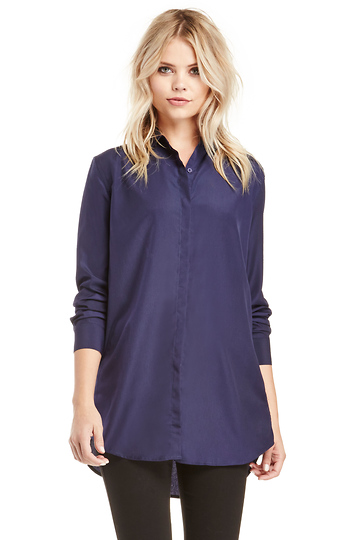 Ally McBeal Boyfriend Button Down Slide 1