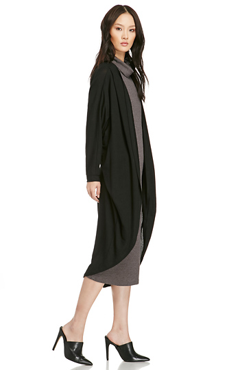 Classic Long Knit Cardigan Slide 1