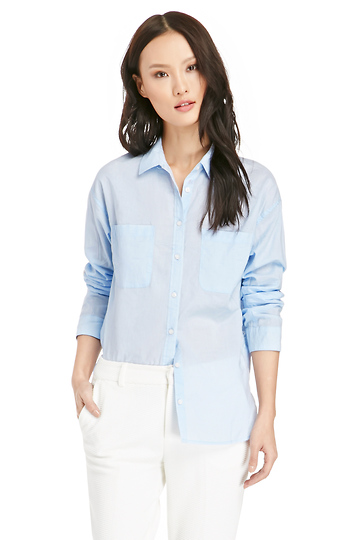 Classic Cotton Button Down Shirt Slide 1