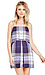Finders Keepers Tartan All Time High Dress Thumb 1