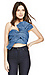 Cameo No Advice Chambray Bustier Thumb 3