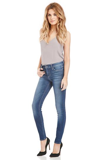 Joe's Jeans Valencia Mid Rise Skinny Jeans Slide 1