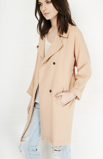 Chaplin Lightweight Trench Coat Slide 1