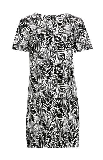 Glamorous Palm Print Dress Slide 1