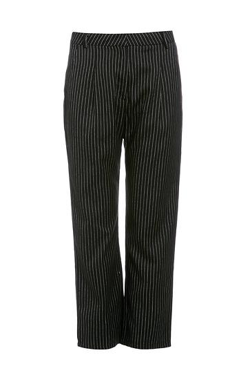 Six Crisp Days Striped Capri Trousers Slide 1