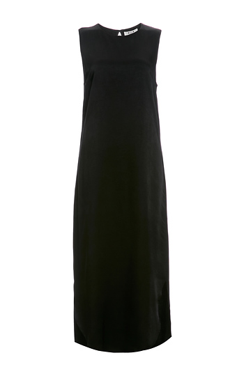 Six Crisp Days Crepe Midi Dress Slide 1