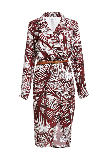 Glamorous Floral Print Wrap Shirtdress Slide 1