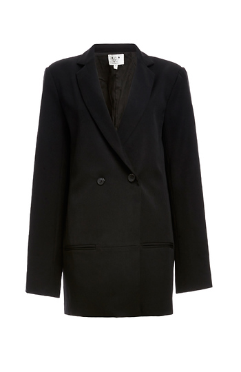 Six Crisp Days Boyfriend Padded Shoulder Blazer Slide 1