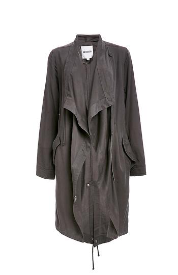 3b5e6f71dbe3 BB Dakota Kerrigan Tencel Lightweight Coat in Grey | DAILYLOOK