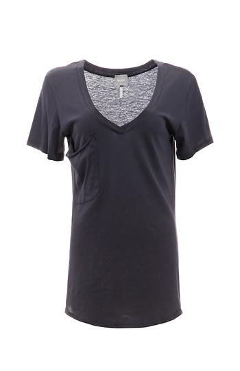 BOBI Boyfriend Cotton Pocket Tee Slide 1