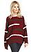 Striped Knit Varsity Sweater Thumb 3