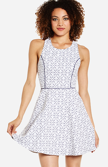 Daisy Fit and Flare Dress Slide 1