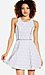Daisy Fit and Flare Dress Thumb 1